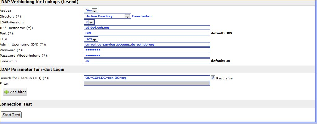 Active Directory (AD), LDAP Authentication & Invalid username or